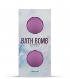DONA - BATH BOMB SASSY TROPICAL TEASE BATH 140 GRAM