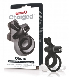 THE SCREAMING O - CHARGED OHARE RABBIT VIBE BLACK
