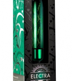 Electra - Mini Ratchet Vibrator (10 rhythm) - Green