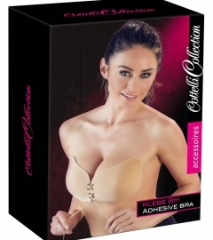 Adhesive Bra with Lacing