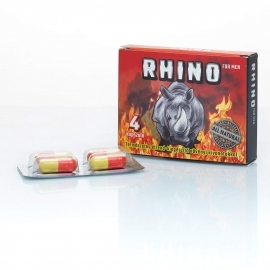 RHINO - Natural Nutrition Supplements for Men (4pcs)