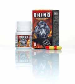 RHINO - Natural Nutrition Supplements for Men (8pcs)