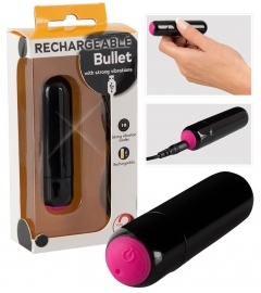 Rechargeable Vibro-bullet
