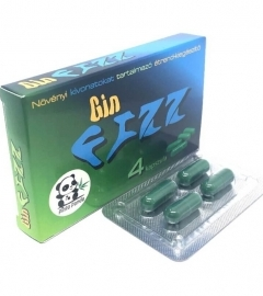 Gin FIZZ - dietary supplement containing plant extracts (4pcs)