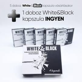 White & Black - strong, dietary supplement for men (4pcs) ...