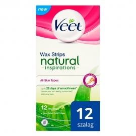 Veet Natural Inspirations - cold resin tapes - Aloe ...